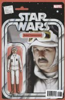 Star Wars #37 - Christopher Action Figure (Rebel Commander) Variant Cover